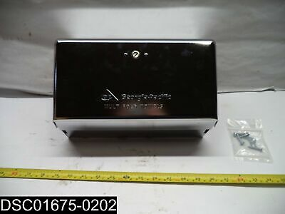 QTY= 10: 54720 Georgia Pacific Multifold Chrome Space Saver Towel Dispensers