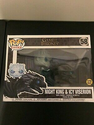 Funko POP! Rides Game of Thrones Night King & Icy Viserion #58 Vinyl Figures
