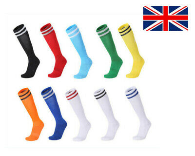 Plain Football Socks Rugby Hockey Soccer Free UK Delivery Mens Womens Kids