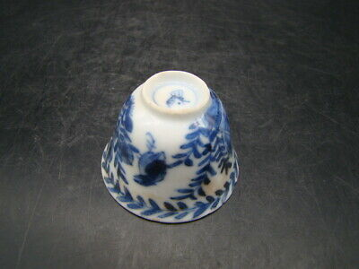 Chinese Kang Xi (1662-1722) period nice blue white very small cup  w6415