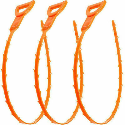 Drainage Flexible Cleaner Hair Clog Remover Hooks For Sink Bathtub Plug Holes