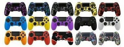 Data Frog Soft Silicone Gel Rubber Case Cover Sony Playstation 4 Ps4 Controller