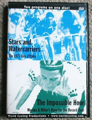 Stars and Watercarriers/The Impossible Hour DVD Eddy Merckx 1973 Giro D'Italia