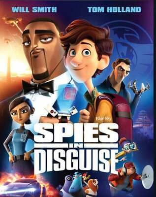 Spies In Disguise (2020,Dvd,New,Sealed) Super Spy,Super Fly,Free Shipping...