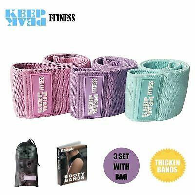 Resistance Bands Set for Legs and Booty Workout Hip Circle Loop Bands KEEPPEAK