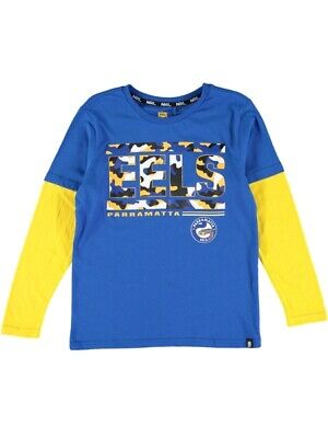 NEW EELS Nrl Youth L/S Tee by Best&Less