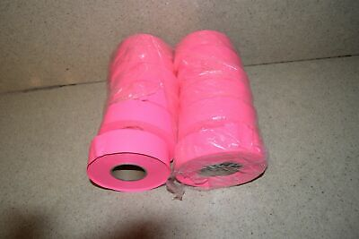 ^^ Flagging Survey Tape Pink Glo 12 Rolls - New (H1)