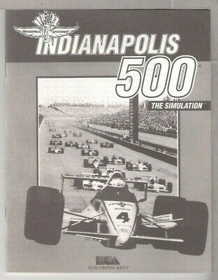 Indianapolis 500  IBM PC 3.5""""