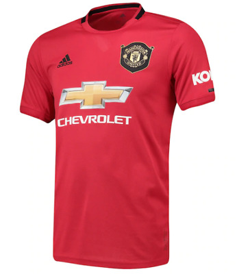 Man utd home shirt official 2019/20  Adults Sizes
