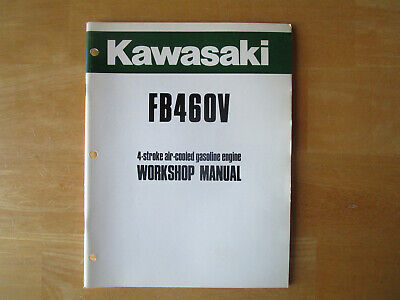 Kawasaki FB460V 4 Stroke Air Cooled Gasoline Engine Workshop Manual