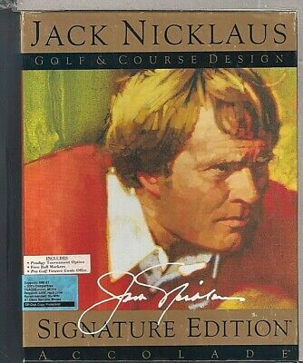 "Accolade Jack Nicklaus Golf & Course Design - Signature Edition 3.5"" Disk"