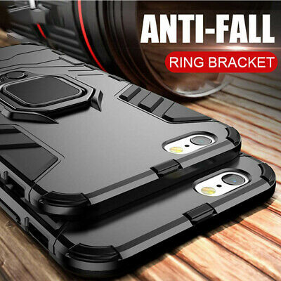 Hybrid Armor Shockproof Rugged Bumper Case For Apple iPhone 11 X XS Max 8 7 6