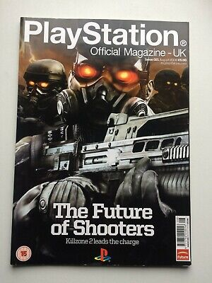 PLAYSTATION Official Magazine UK August 2008 The Future of Shooters