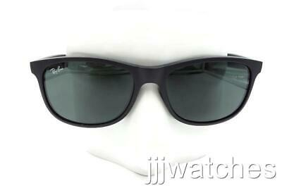Ray Ban Andy Black Classic Green Square Sunglasses RB4202 6069/71 55-17 > $128