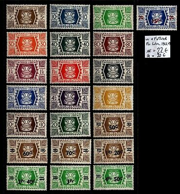 WALLIS & FUTUNA :  Série FRANCE LIBRE, Neufs * = Cote 20 € / Lot COLONIES France