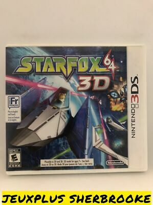 Star Fox 64 3D Starfox (Nintendo 3DS, 2011) (COMPLETE IN BOX)