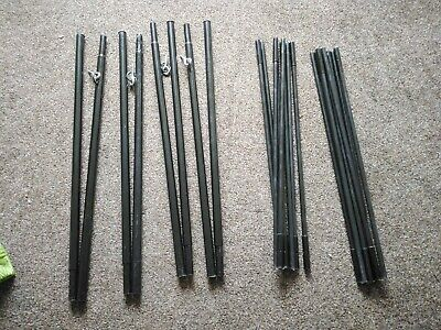 Tent Fibreglass Poles Spare Replacement 13.5mm Vango Kampa Outwell