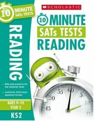 10-Minute SATs Tests for Reading - Year 5 (Ages 9-10). Quick tests with an authe