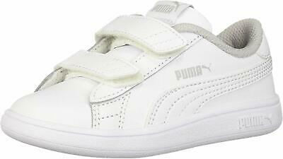 PUMA SMASH FUN JUNIOR GIRLS LACE UP SNEAKERS BLACKPINK Size