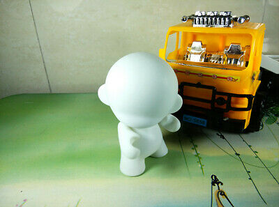 10pcs 4 inch Kidrobot Munny never painted blank white vinyl art toy new dolls