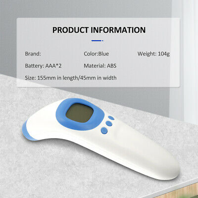IR Infrared Digital Termometer Non-Contact Forehead For Baby/Adult Thermometer A