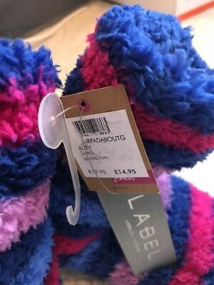 NEW Joules Slippers Socks Childs Shoe Size 8-9-10 EUR 25-26-27-28 BNWT Gift Xmas