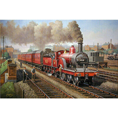 Cross Stitch Cushion Front Kit Collection D/'Art CD5177 Steam Dream Train