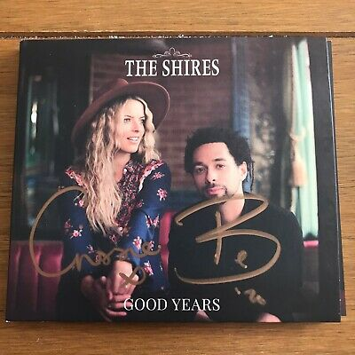 The Shires - Good Years Signed Cd  autographed