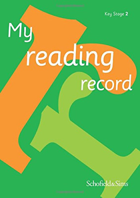 My Reading Record for Key Stage 2: KS2, Ages 7-11, Schofield & Sims, Good Condit