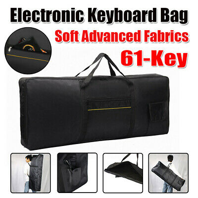 61-Key Keyboard Electric Piano Case Bag Advanced Fabric Cover Lightweight UK