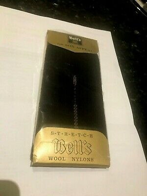 Bell's Australia Vintage for Sox Appeal-Stretch Socks-Wool Nylons-One Size-1960s