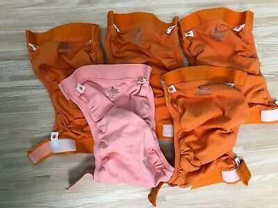 Gdiaper Lot Diaper Covers Orange Size Medium 6 g diaper