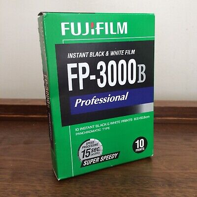FUJIFILM FP-3000B Instant Black and White Film Exp Expiration 2014