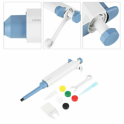 1PCS Single-Channel Manual Adjustable Variable Pipette Micro /Pipettor 20~200ul