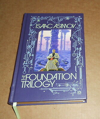 Isaac Asimov The Foundation Trilogy 2011 Book Leather Bound 1st Ed.