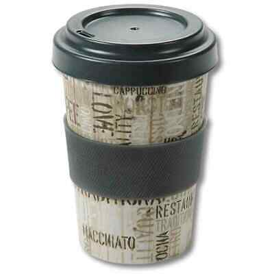 Drinking Cup Mug Coffee-To-Go 0,5l Bamboo Coffee Hot Drinks Beverages