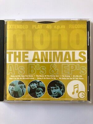 The Animals - A's B's and EP's (Greatest Hits) - CD Album