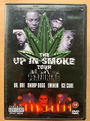 Up in Smoke Tour DVD Rap Hip Hop Concert Ice Cube Eminem Dr Dre and Snoop Dogg