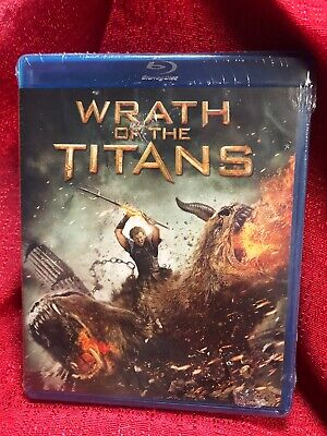 Wrath Of The Titans Blu Ray DVD ~ BRAND NEW FACTORY SEALED