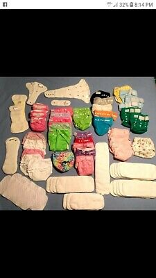 Must sell fast!! HUGE LOT of Cloth diapers