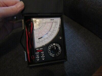 Pre-owned working Olson Model TE-240 volt meter.
