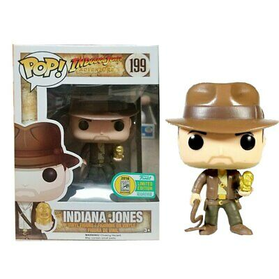Indiana Jones #199 Action Figure Funko Pop Vinyl Collection Doll New in Box