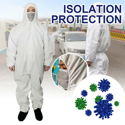 1PC Disposable Protective Clothing Safety Overalls Suit Full Protection L XL XXL