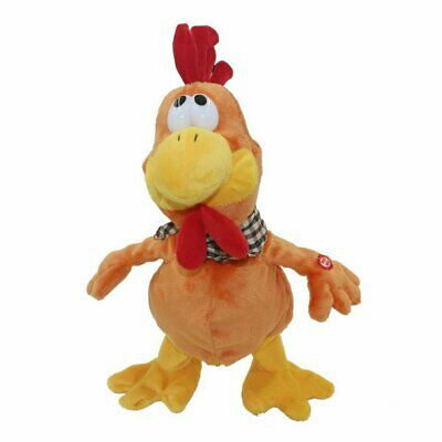 Children's electric toy chicken plush sounding toys fun toys educational toys IW