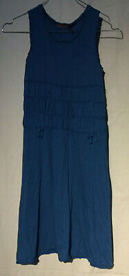 USA* Original JUICY COUTURE * Sommer Kleid * Blau * Gr. 12 Jahre * wNEU