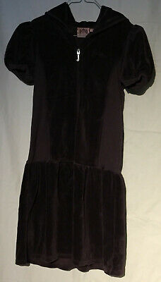 USA* Original JUICY COUTURE * Kurzarm Kleid * Aubergine * Gr. 14 Jahre *wNEU
