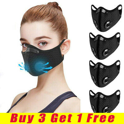 Fitness Motorcycle Bicycle Cycling Anti-Pollution Half Face Dust Masque Filter