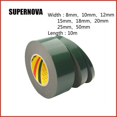 10M Super Strong Waterproof Adhesive Double Sided Foam Tape For Car Trim home