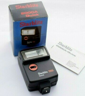 Starblitz 2000A Quick Flashgun - Boxed with instructions            #W32