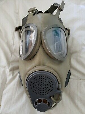 East German Military Gas Mask M10M Hydration Straw Filters Inserted Bag
